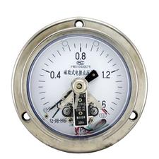不锈钢轴向带边耐震压力表Y-153BFZ