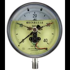 不锈钢轴向带边压力表Y-153BF